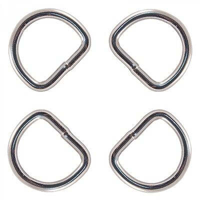 18mm Metal Wire unwelded D Ring Buckle Fasteners for 15mm webbing