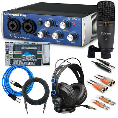 PreSonus AudioBox Studio Recording Package CABLE KIT
