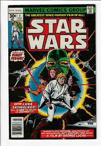 Star Wars #1 High Grade First Issue Bronze Age Marvel Comic 1977