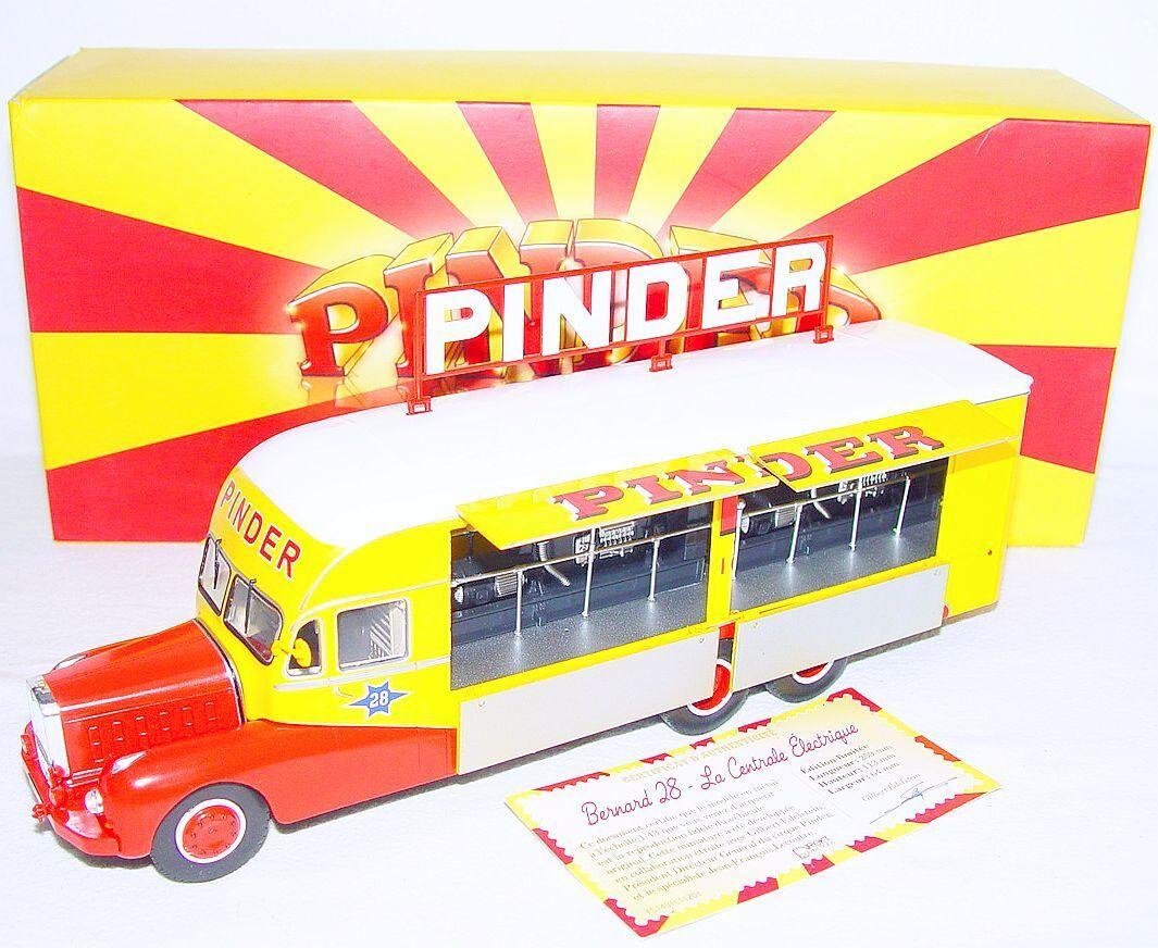 Direkt colecciones Circo Pinder Bernard 28 camión edición Especial Modelo NMIB' 13