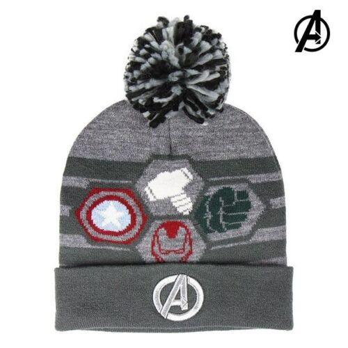 The Avengers Wintermütze Hut KinderMütze Grau