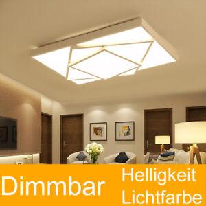 48W! dimmbar LED Deckenlampe Deckenleuchte Wohnzimmer Schlafzimmer ...