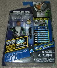 Star Wars Clone Wars 2011 CW41 Trooper Hevy? CW52 Commander Colt? ERROR Variant