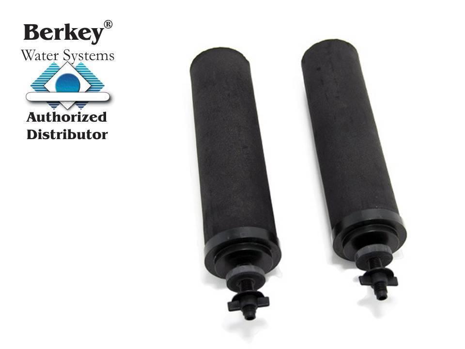 2 Noir de remplacement Berkey Purification éléments  BB9-2  Nouveau millennim Concepts