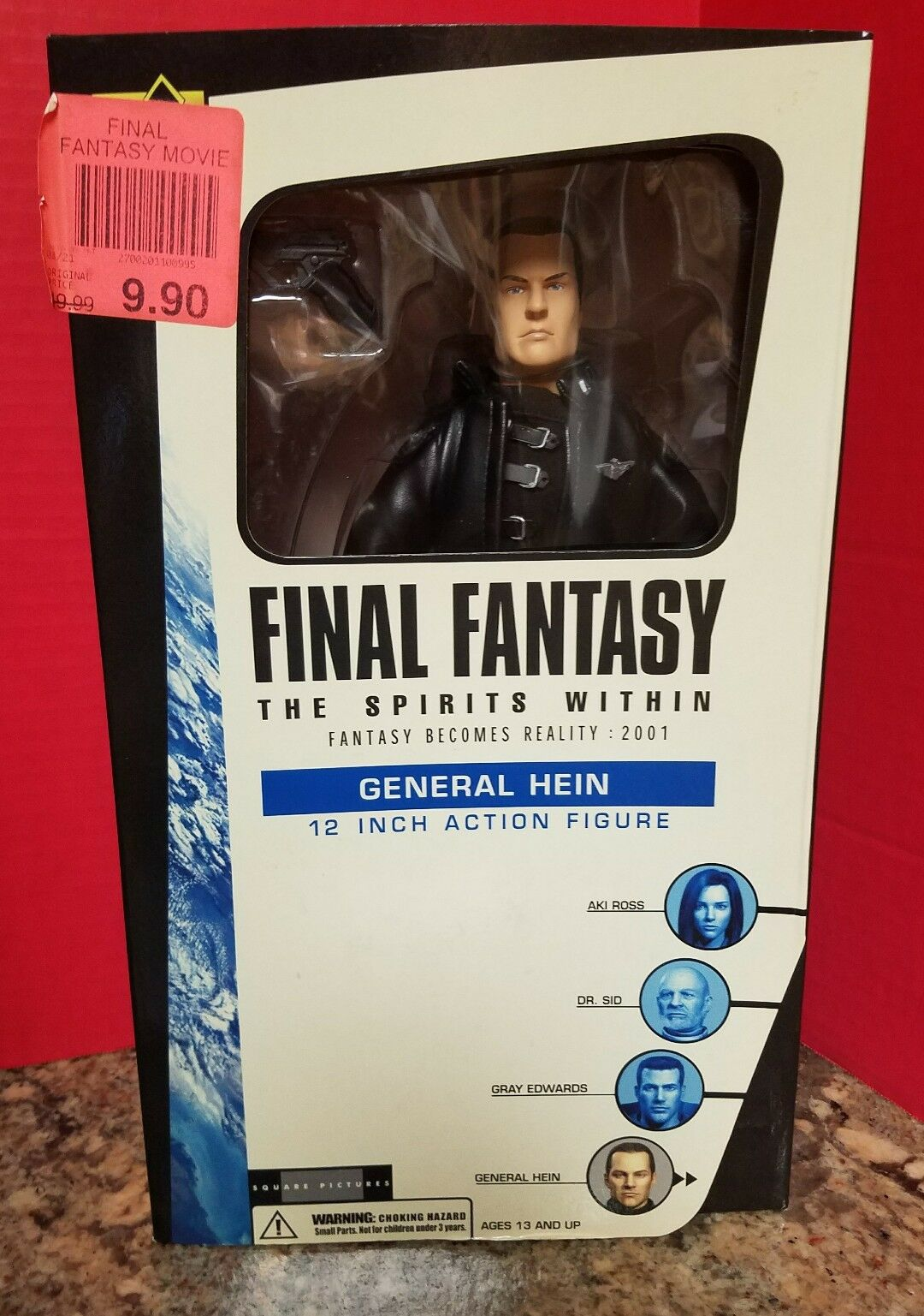 Final Fantasy The Spirits Within General Hein 12 Inch Inch 12 Figure 2001 Palisides 651d52