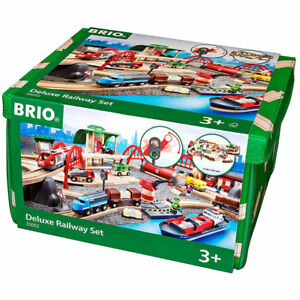 Brio 33052 Deluxe Railway Set - Train en bois