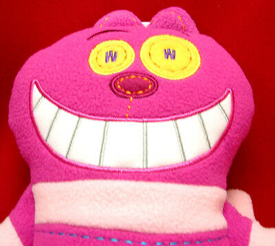 Pook A Looz Pookalooz Disney Plush Figure Cheshire Cat from Alice in Wonderland