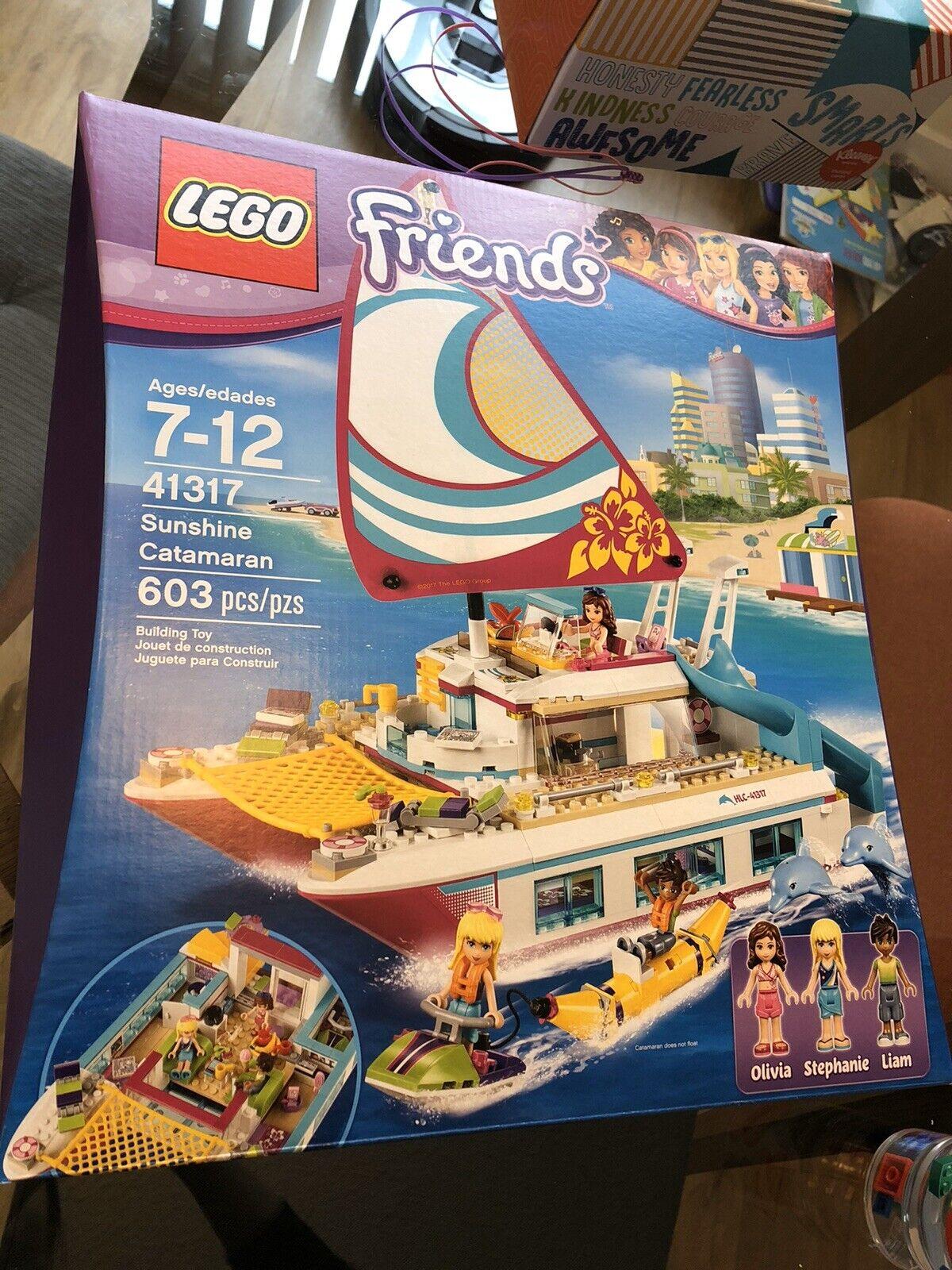 Lego Friends  Sunshine catamarán' 41317 barco crucero retirado de regalo Nuevo Envío Rápido