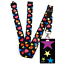 High-quality-ID-badge-holder-RAINBOW-STARS-amp-Secure-Lanyard-neck-strap-soft thumbnail 33