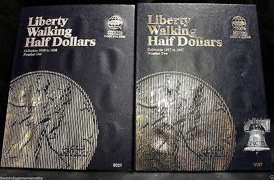 Liberty Walking Halves 1916-1940 Vintage Whitman Album # 9423.