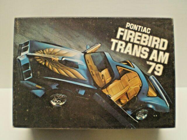 1979 Firebird Trans Am Promo Model Car Kit  In Starlight Black L@@K!