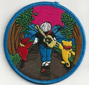 GRATEFUL-DEAD-JERRY-WITH-BEARS-IRON-ON-or-SEW-ON-PATCH