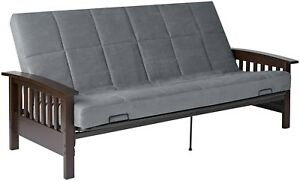 Mission Style Sofa Futon Sleeper