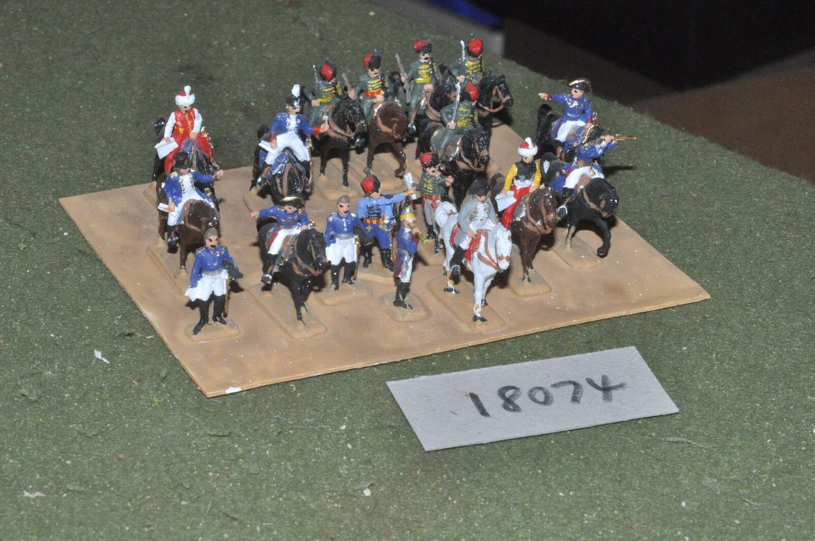 20mm napoleonic   french - plastic command - command (18074)