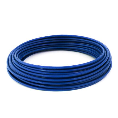 6mm CÂBLES GAINE PVC GALVANISÉ acier enrobe revetu toron métal corde