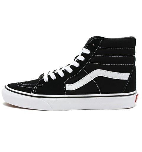 VANS SK8 HI Black/White Men/Women Sneakers  VN-000D5IB8C Sz4.5-13Fast ship O