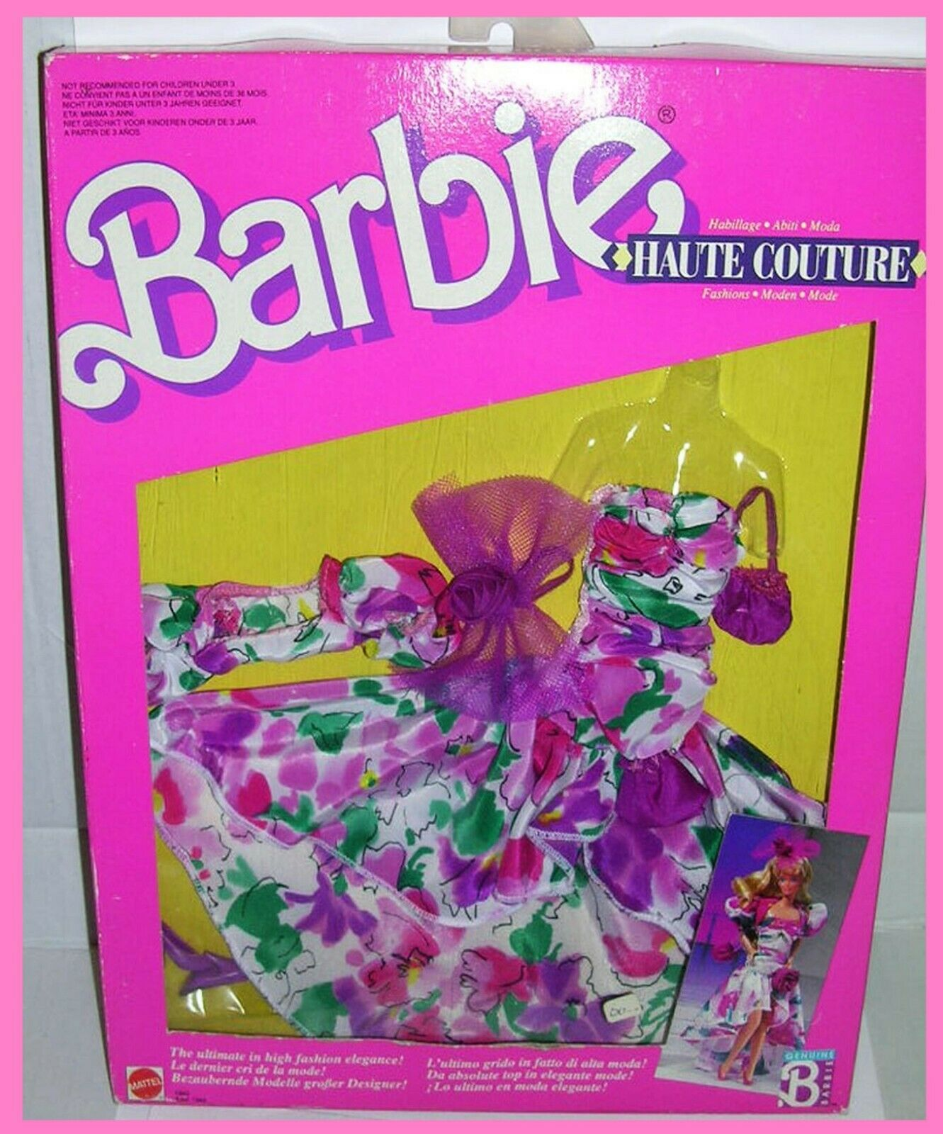 FOREIGN 1988 Barbie HAUTE COUTURE outfit  1943 NRFB OVP