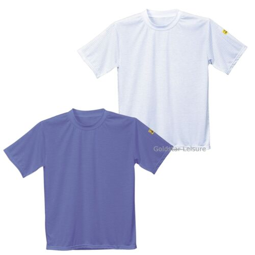 Portwest ANTISTATICI ESD T-Shirt Tee Top LAVORO WORKWEAR uniforme warehouse AS20