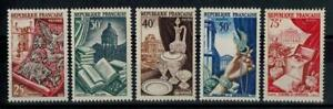 a24-timbres-de-France-n-970-974-neufs-annee-1954