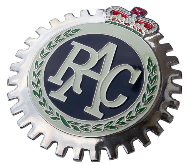 Royal Automobile Club Car Grille Badge Rac For Sale Online Ebay
