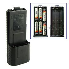 3800mAh 6AA Battery Case Pack For BaoFeng Radio UV-5R PLus UV-5RB TYT TH-F8 New