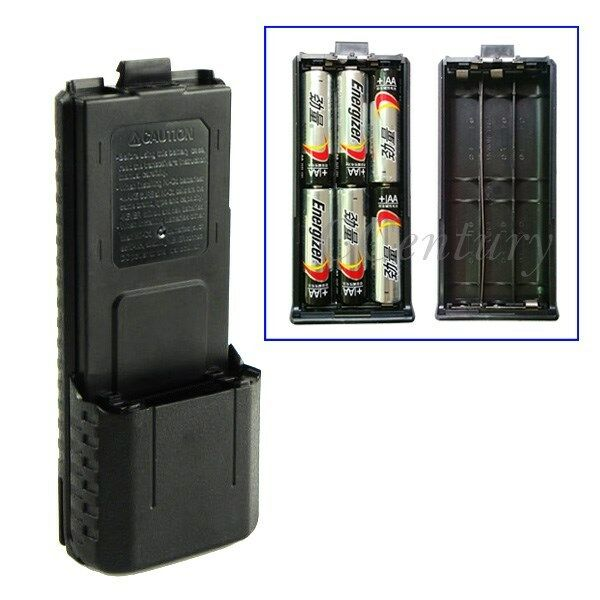 3800mAh 6AA Battery Case Pack For BaoFeng Radio UV-5R PLus UV-5RB TYT TH-F8 A103