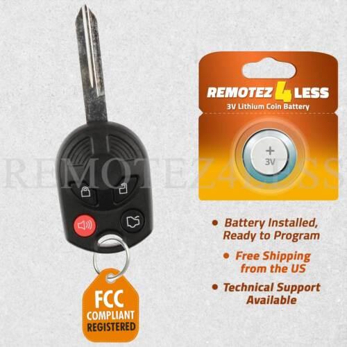 Remote for 2006 2007 2008 2009 2010 2011 Mercury Milan Keyless Entry