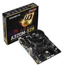 AMD Ryzen 5 2600X Six Core Gigabyte A320M-S2H Motherboard CPU Bundle NO RAM