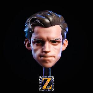 "Free Ship 1//6 scale Iron Man Head Sculpt Tony Cartoon Ver fit 12/"" figure body"