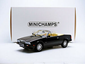 Minichamps-1986-Maserati-Biturbo-Arana-Negro-en-1-18-Escala-Nuevo