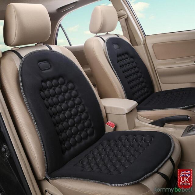 Car Seat Cushion Protector Universal Orthopaedic Padded Massage Back Van Taxi Uk