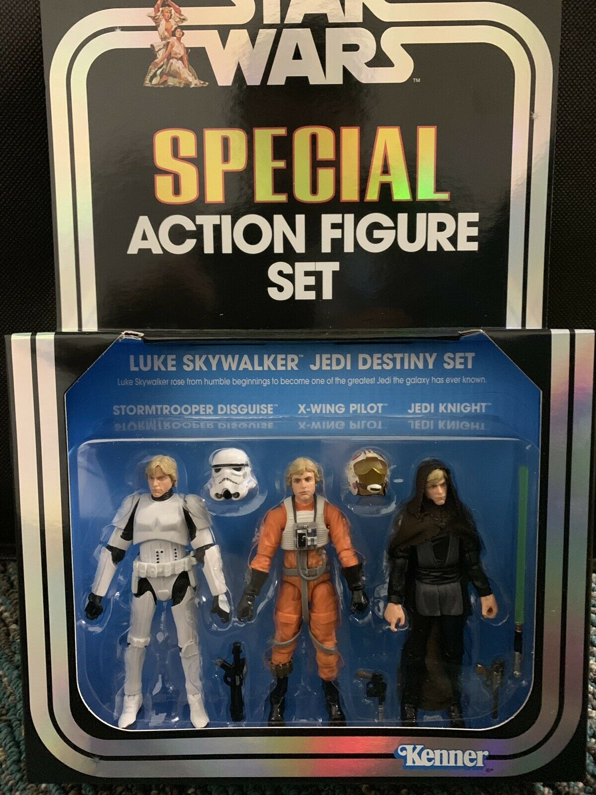 Hasbro SDCC 2019 Vintage Collection Star Wars  Luke Skywalker Jedi In Hand