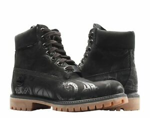 Timberland-Mens-6-034-Premium-NBA-East-Vs-West-Limited-Edition-Black-Boots