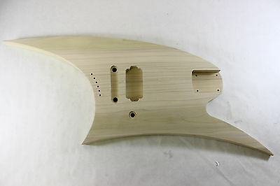 Replacement Unfinished Poplar Roswell Rhoads Rhoades Star guitar body - RS004