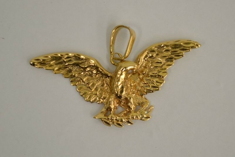 gold Eagle Pendant 14K Yellow gold 10.9g (FCO002907)
