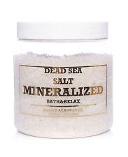 1000g•1kg Dead Sea mineralized salt from Jordan•Natural•Bath & Relax•100% Pure•
