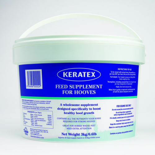 KERATEX HORSE FEED SUPPLEMENT  FOR HOOVES 3KG  online outlet sale