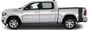 Rumblebee Bedside Tail Vinyl Graphic Decal Stripes for Dodge RAM 1500 2019 /& Up