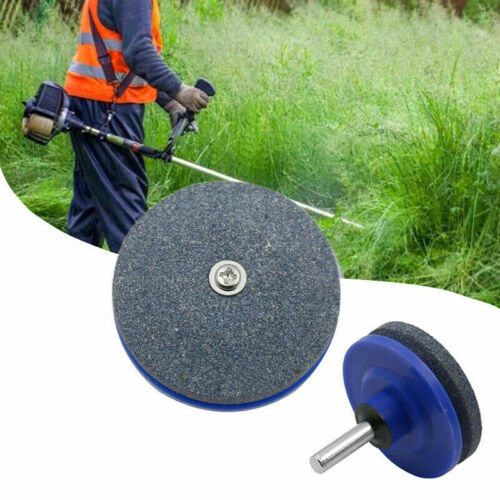 Rotary Lawn Mower Lawnmower Blade Sharpener Grinding Tools for Mower Drill Head
