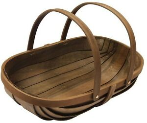 Joseph Bentley 21 In Wooden Garden Trug Wood Garden Basket Plant