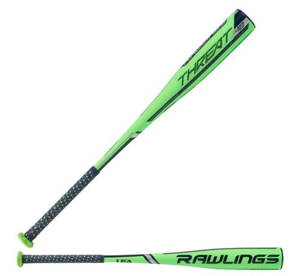 Rawlings amenaza (-12) juventud bate de béisbol 2 5 8  Barril de EE. UU. 1 pieza (31 -19oz)
