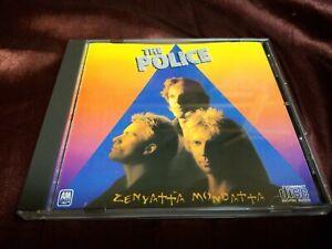 POLICE-ZENYATTA-MONDATTA-1985-A-amp-M-AUDIO-MASTER-SERIES-CD-Like-new