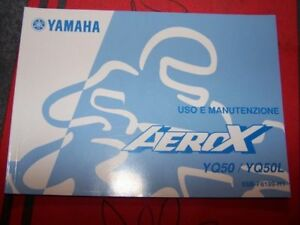 4c Manual Uso E Manutenzione/owner S Manual Yamaha Yq50 Yq 50 L Aerox Yq50l Gvcdk1y3-08003355-145835692