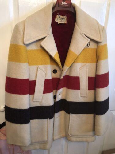 Vintage L.L. Bean Coat Hudson Bay Style