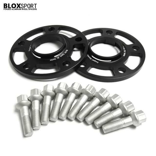 (2) 10mm Porsche Hubcentric Wheel Spacers for Panamera Boxster 911 5x130 71.6 HB