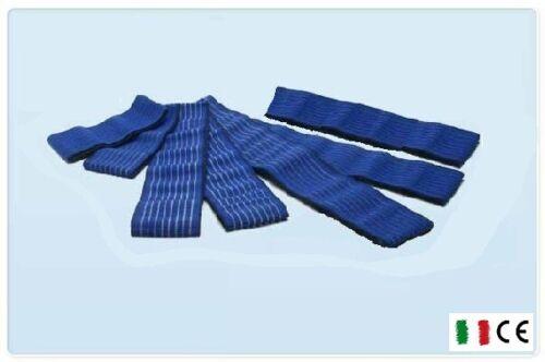 ug 7 fasce elastiche blu fiab elettrostimolazione elettrodi fascia fasciature ..