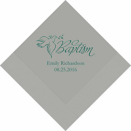 500 Baptism Personalized Luncheon Napkins