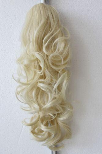 Haarteil Zopf Hair Piece Pferdeschwanz Zopf 60cm Voluminös Gewellt