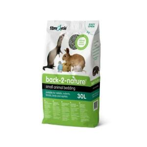 Back 2 Nature Small Animal Bedding - 30 L Hamster Lapin Cobaye Rat Litière-afficher Le Titre D'origine