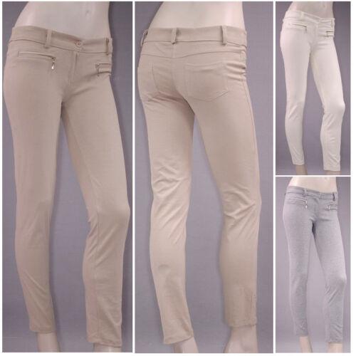 /% SALE STRECH 7//8 Stretch Pantaloni Treggings Treggins leggings Gogo 1202